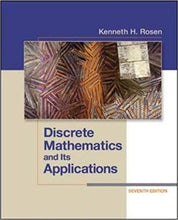 Discrete Mathematics and Its Applications 7th Edition  - PDF Version
