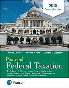 Pearson's Federal Taxation 2018 Comprehensive 31st Edition (Ebook, PDF)