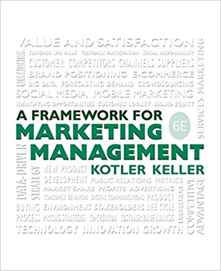 Framework for Marketing Management 6 Edition - PDF Version