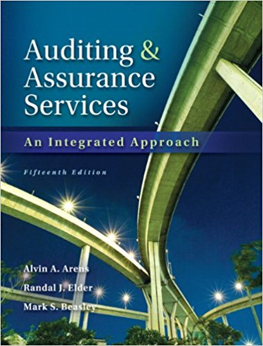 Auditing and Assurance Services 15th Edition - PDF Version