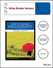 Exploring Management, Binder Ready Version 4th Edition - PDF Version