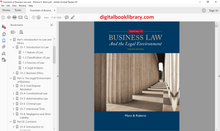 Essentials of Business Law and the Legal Environment 12th Edition