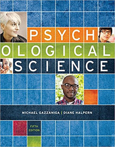 Psychological Science 5th Edition - PDF Version