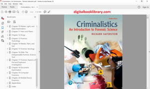 Criminalistics: An Introduction to Forensic Science 12th Edition (PDF Version)