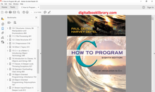 C How to Program 8th Edition ( PDF Version )