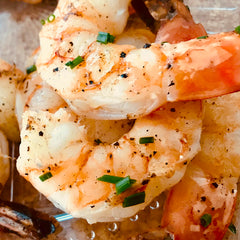 Lemon Lime Grilled Tiger Shrimp