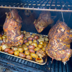 Roasted Chickens