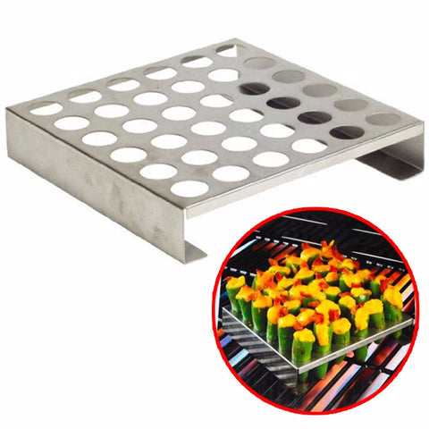 8.8'' Stainless Steel Jalapeno Pepper Grill Rack