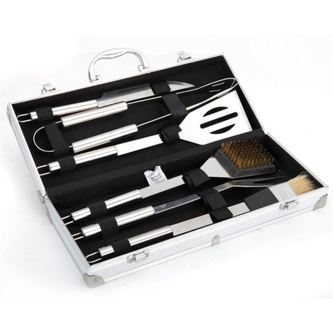 6 Pieces Stainless BBQ Toll Set