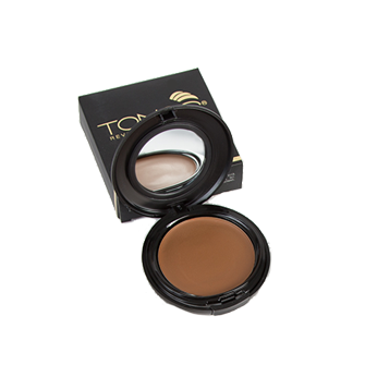 Total Cover Cream Foundation by TONOS. Cruelty-free makeup.