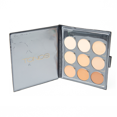 TONOS Pressed Powder Palette. Cruelty Free Cosmetics.