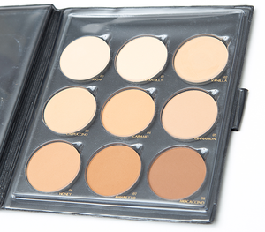 Pressed Powder Palette by TONOS. Cruelty Free Makeup.