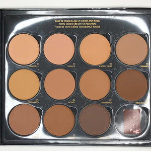 Total Cover Cream Foundation Palette