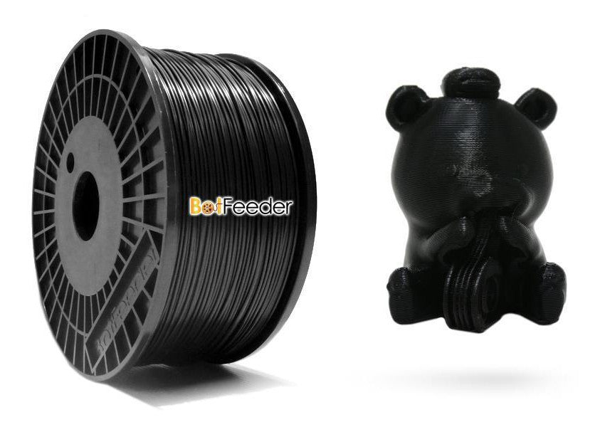 BotFeeder ABS Black Filament & BoFee Bear