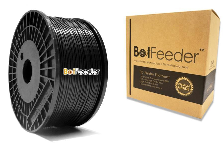 BotFeeder ABS Black Filament in the Box