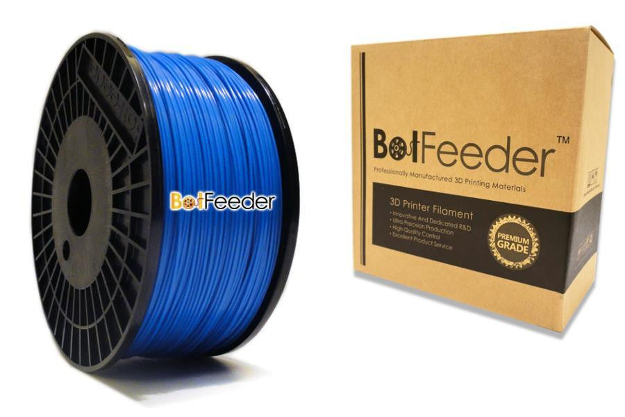 BotFeeder ABS Blue Filament in the Box
