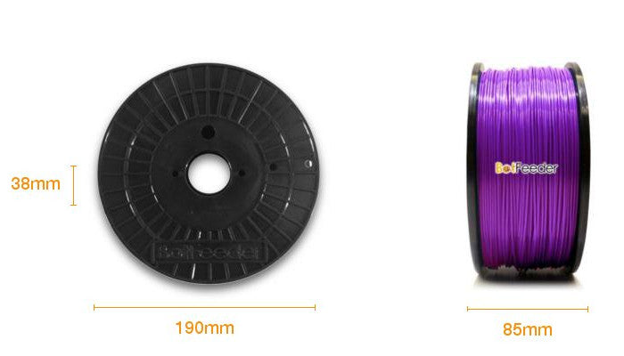 BotFeeder ABS Purple Filament Dimension