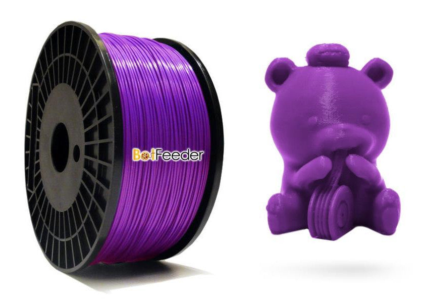 BotFeeder ABS Purple Filament & BoFee Bear