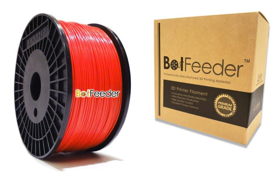 BotFeeder ABS Red Filament in the Box