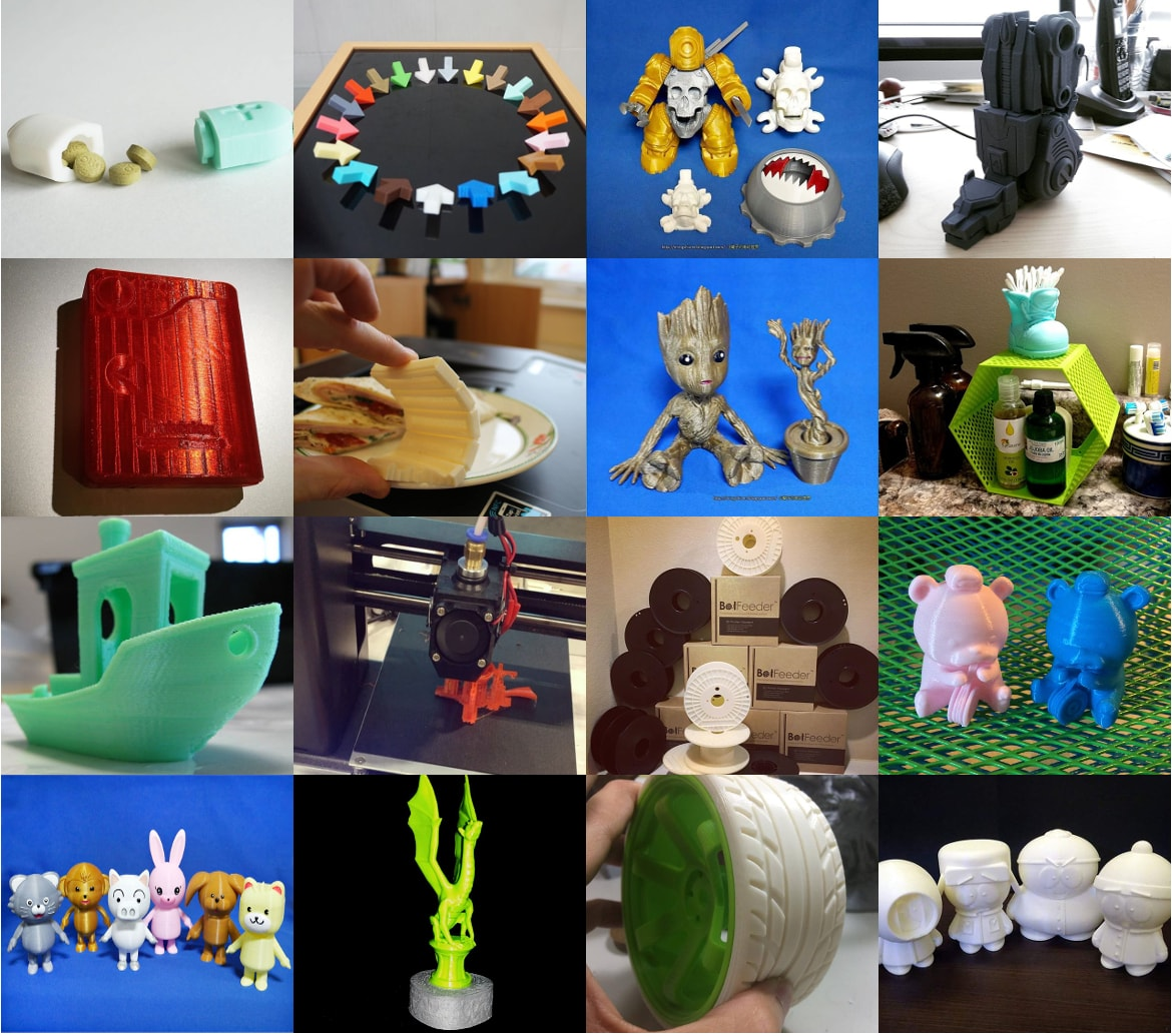 3D Prints from Our Customers