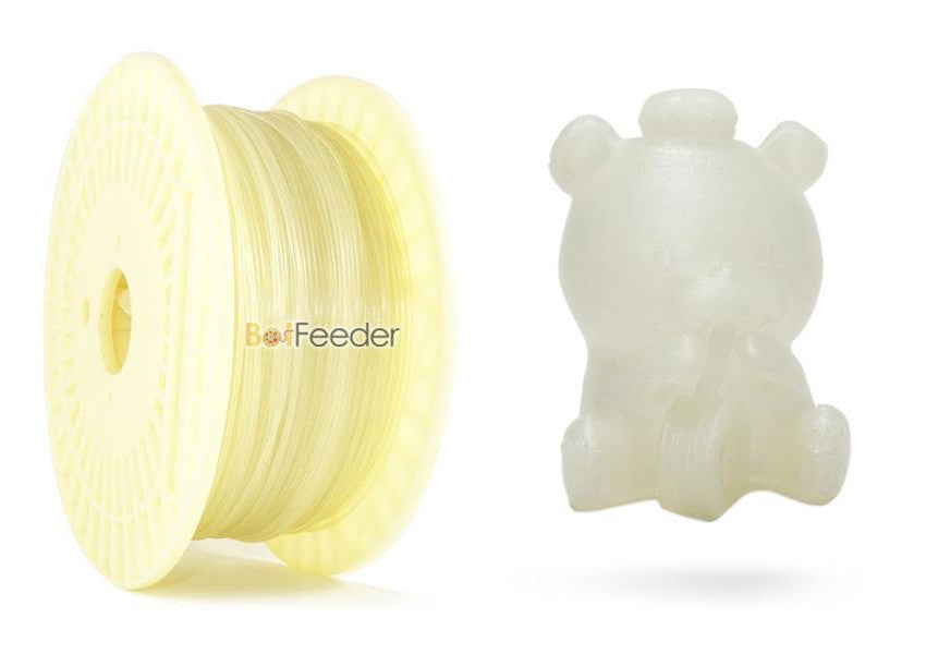 BotFeeder Filaglow Glow in the Dark Natural Filament & BoFee Bear