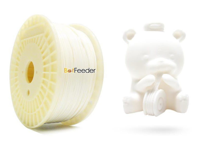 BotFeeder PLA White Filament & BoFee Bear