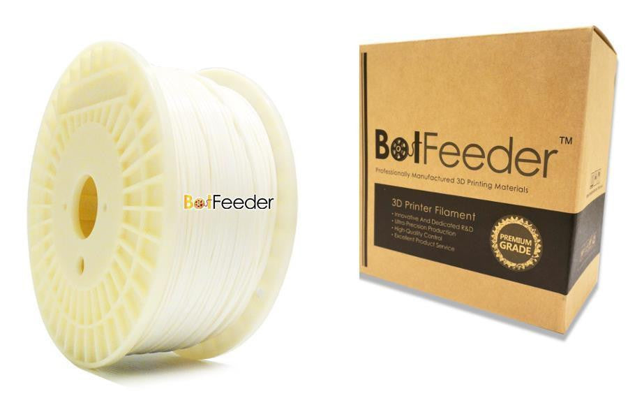 BotFeeder PLA White Filament in the Box