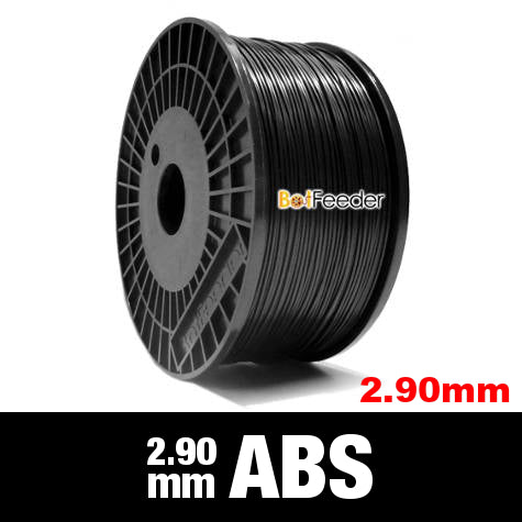 1kg ABS Filament 2.90mm  – Black