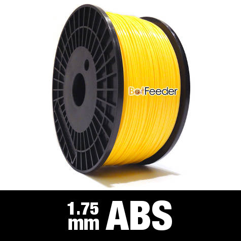 1kg ABS Filament 1.75mm – Yellow