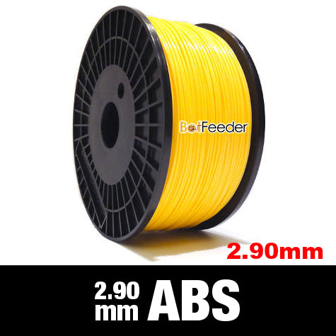 1kg ABS Filament 2.90mm – Yellow