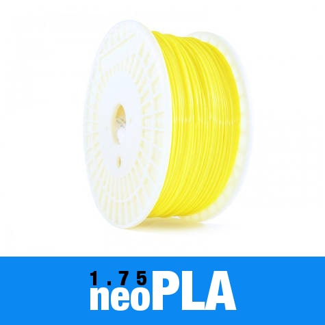 1kg neoPLA Filament 1.75mm – Lemon Yellow