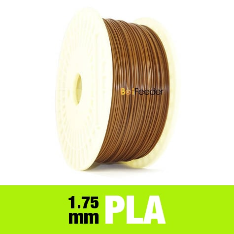 1kg PURE PLA Filament 1.75mm – Chocolate