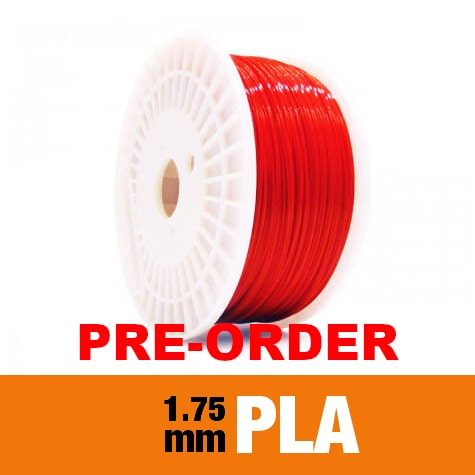 Pre-order June/July 1kg PLA Filament 1.75mm – Coke Red