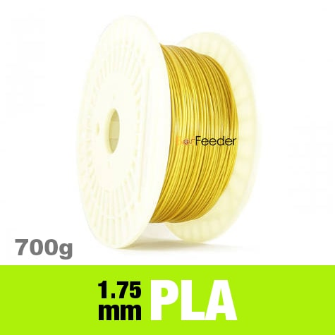 700g PURE PLA Filament 1.75mm – Metallic Karat Gold