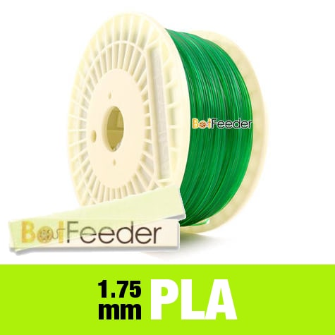 1kg PURE PLA Filament 1.75mm – Transparent Green