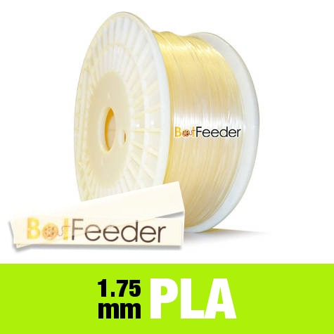 1kg PURE PLA Filament 1.75mm – Transparent Natural