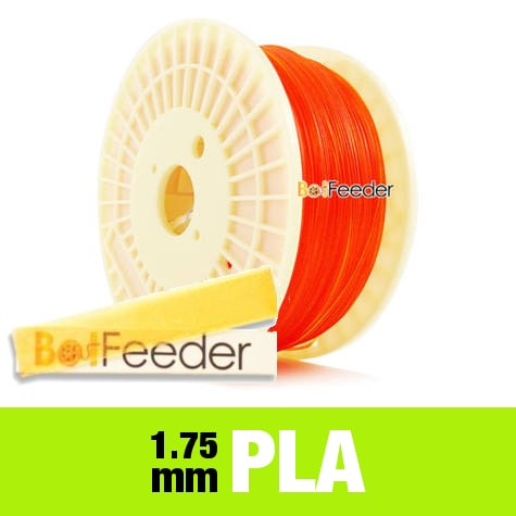 1kg PURE PLA Filament 1.75mm – Transparent Orange