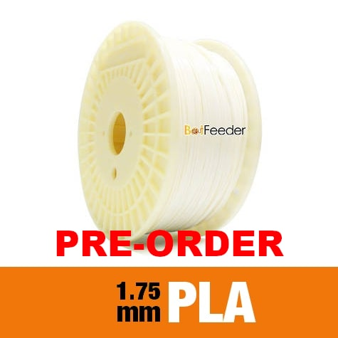 1kg PLA Filament 1.75mm – Piano White