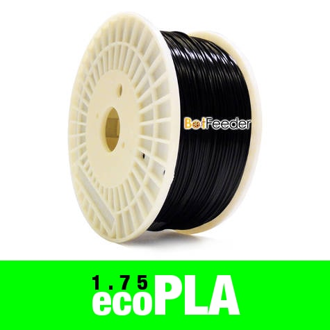 1kg ecoPLA Filament 1.75mm – Black
