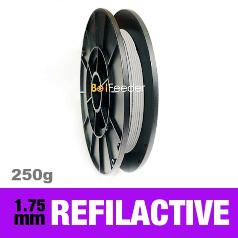 250g reFilactive Reflective Filament 1.75mm – Gray