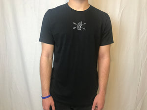 "Black ""Color Rush"" T-Shirt"