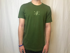 "Olive ""Color Rush"" T-Shirt"
