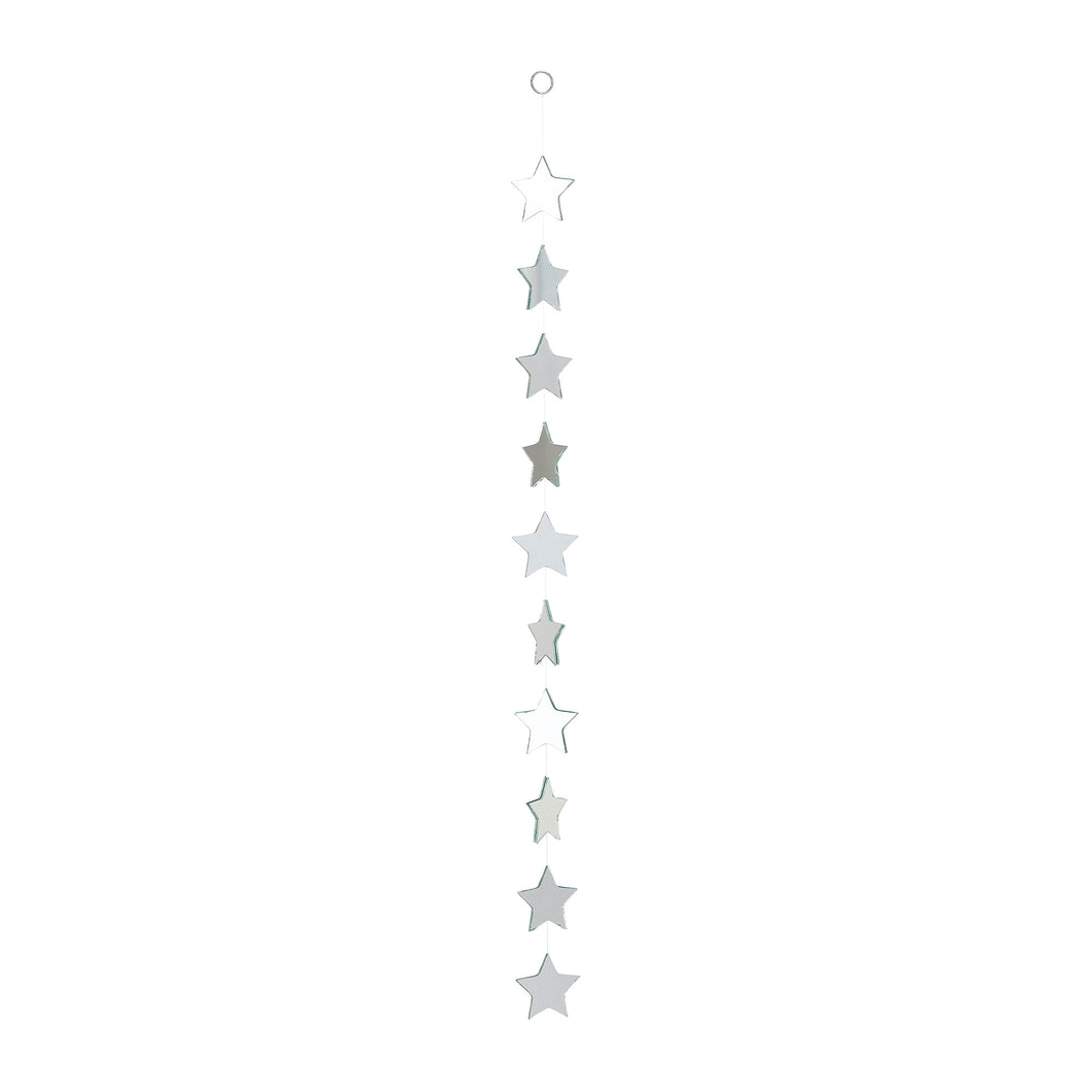 Glass Star Hanging Mobile