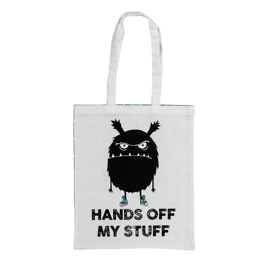 Hands Off My Stuff Cotton Tote Bag