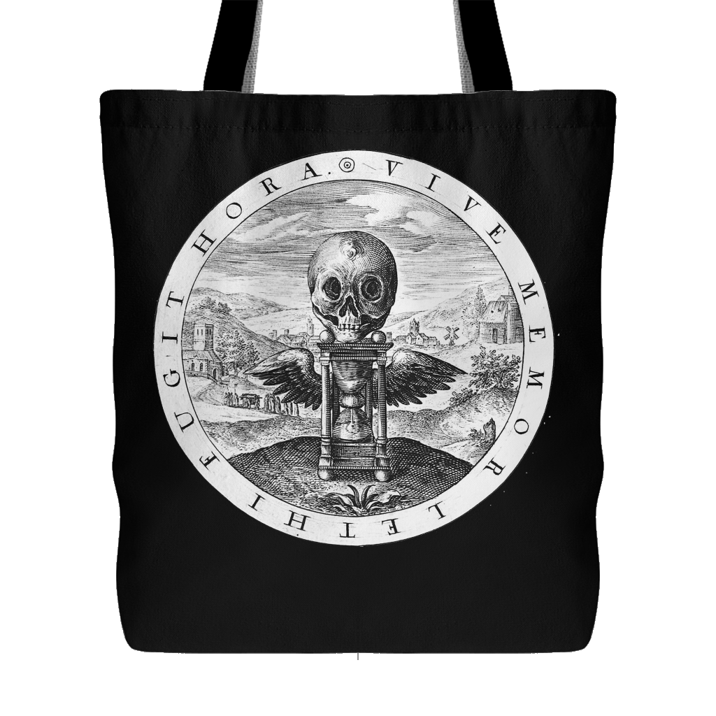 Vive Memor Leti Fugit Hora tote bag - Live Mindful of Death, the Hour Flies