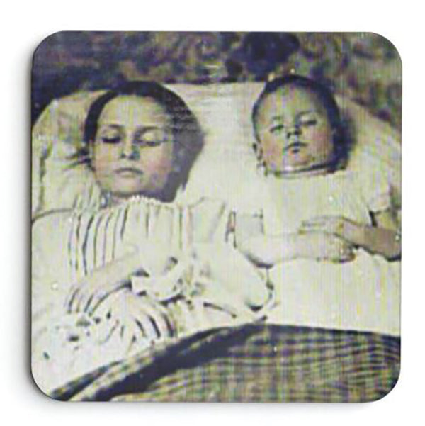 Post Mortem Photographs Coaster Set
