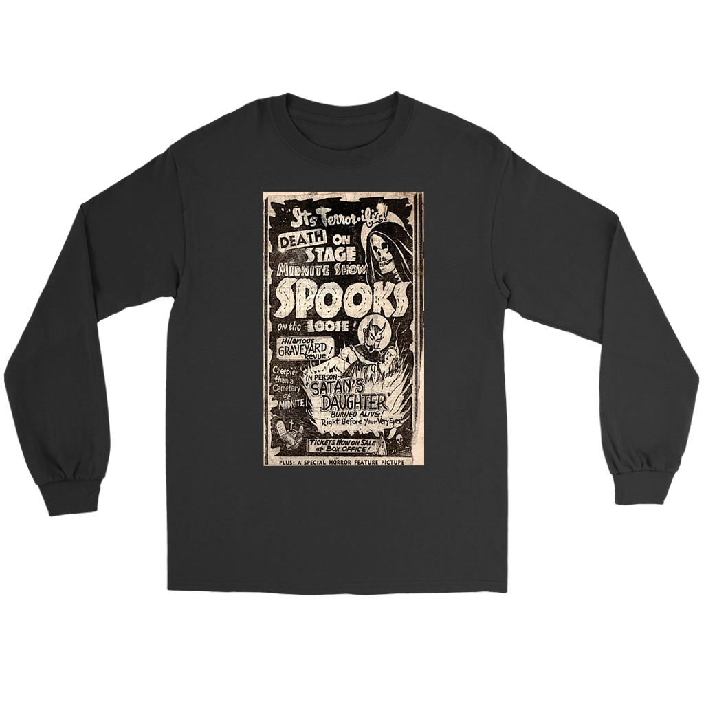It's Terrorific! Spook show Long Sleeve T