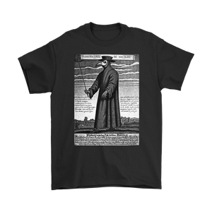 Plague Doctor image on T Shirt