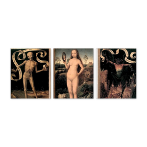 Vanity and Salvation Triptych