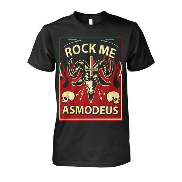 Rock Me Asmodeus - Unisex Cotton Tee